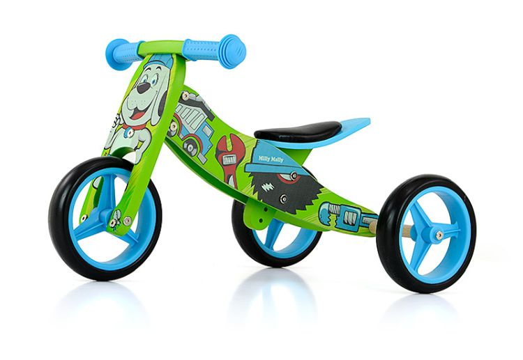 Milly Mally Ride On 2in1 Jake Bob | Jouets | Les archives
