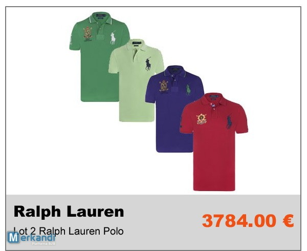 ... Vente Privée B2B Invendus Destockage de vetements Ralph Lauren photo 2 11fc0fb0ff8