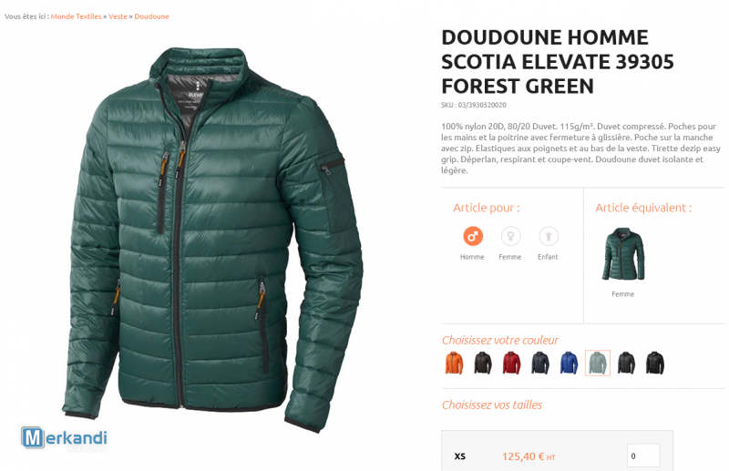 Vêtements Sport Elevate De Forest Jacket Light Les Scotia IqaIzY