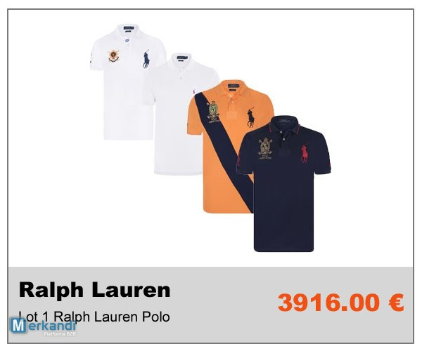 Ventre Privée B2B Invendus Destockage de vetements Ralph Lauren ... 2f6971d688c